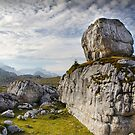 Dolomite rock pile by David Galson