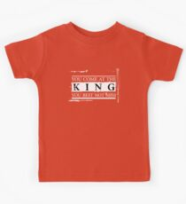 """You Come at the King, You Best Not Miss"" - The Wire (Light) Kids Clothes"