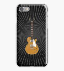 Gold Top Electric Guitar iPhone Case/Skin