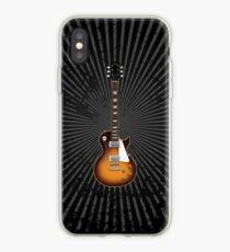 Vinilo o funda para iPhone Guitarra eléctrica Sunburst