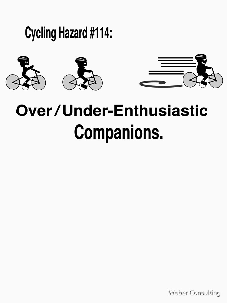 Cycling Hazards - Over- (or under-)enthusiastic companions by HalfNote5