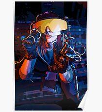 """Christina Creeps """"Virtual Reality"""" Poster"""