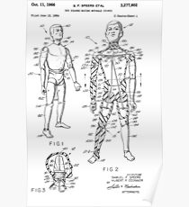 Toy Doll Patent 1964  Poster