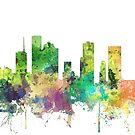 Houston, Texas Skyline SP von Marlene Watson