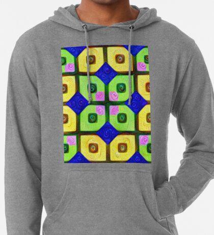 #DeepDream Color Squares Visual Areas 5x5K v1448352654 Lightweight Hoodie