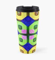 #DeepDream Color Squares Visual Areas 5x5K v1448352654 Travel Mug