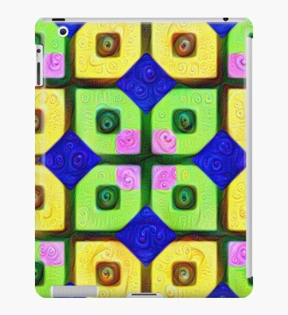 #DeepDream Color Squares Visual Areas 5x5K v1448352654 iPad Case/Skin