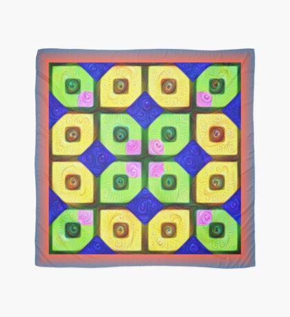 #DeepDream Color Squares Visual Areas 5x5K v1448352654 Scarf