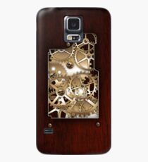 Brass and wood Steampunk cover Case/Skin for Samsung Galaxy