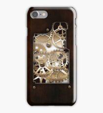 Walnut and Brass Steampunk cover. iPhone Case/Skin