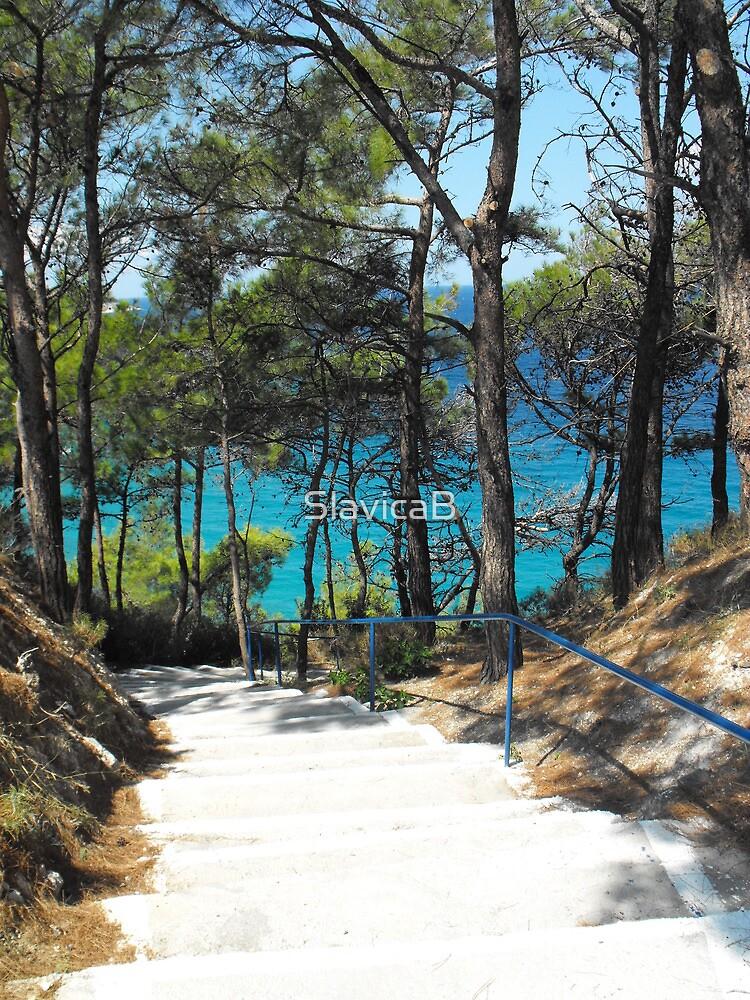 Greek Island Beach Samos by SlavicaB