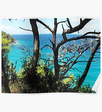 Greek Island Beach Samos 3 #photography Poster