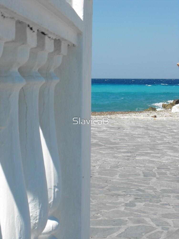 Greek Island Samos Beach #photography by SlavicaB