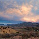 Diamond Mountain Road Afterglow by Kim Barton
