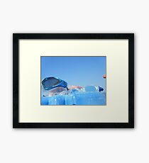 Goggles in the sky #photography Framed Print
