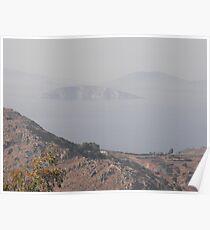 Greek Island Illusions Poster