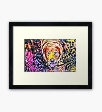 Wild nature - dog #3 Framed Print