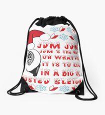 JDM Xmas Drawstring Bag