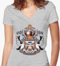 Duck Hunter Women's Fitted V-Neck T-Shirt