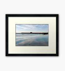 November Seascape 1 - Lyme Regis Framed Print