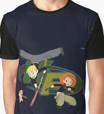 Kim Possible Flow Arts Graphic T-Shirt