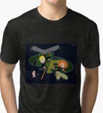 Kim Possible Flow Arts Tri-blend T-Shirt