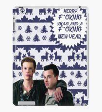 Merry F*cking Christmas [[Gallavich]] II iPad Case/Skin