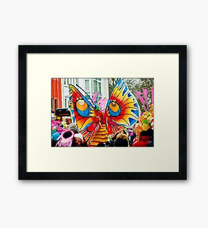 Bremen Carnivale 2012 Framed Print