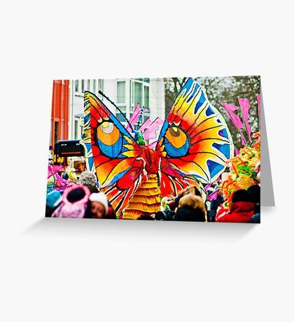 Bremen Carnivale 2012 Greeting Card