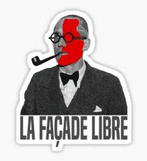 La Façade Libre Sticker