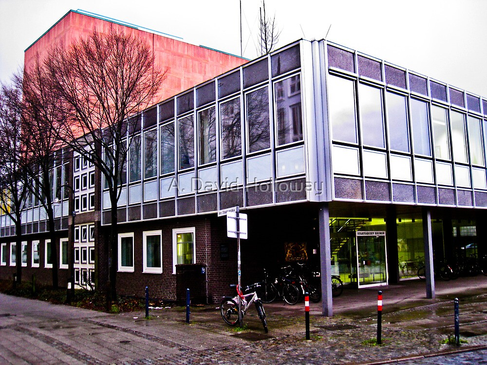 Bremen State Archive Building by Aaron Holloway