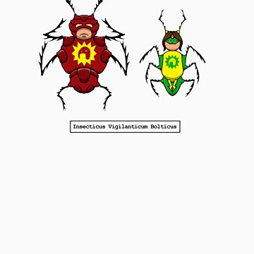 Crimson Bolt Insects by YayzusInsectus
