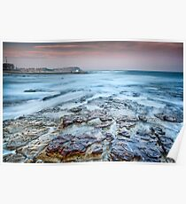 Merewether on the Rocks Poster