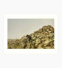 The Wetherlam Series ~ Wetherlam Tarn Art Print