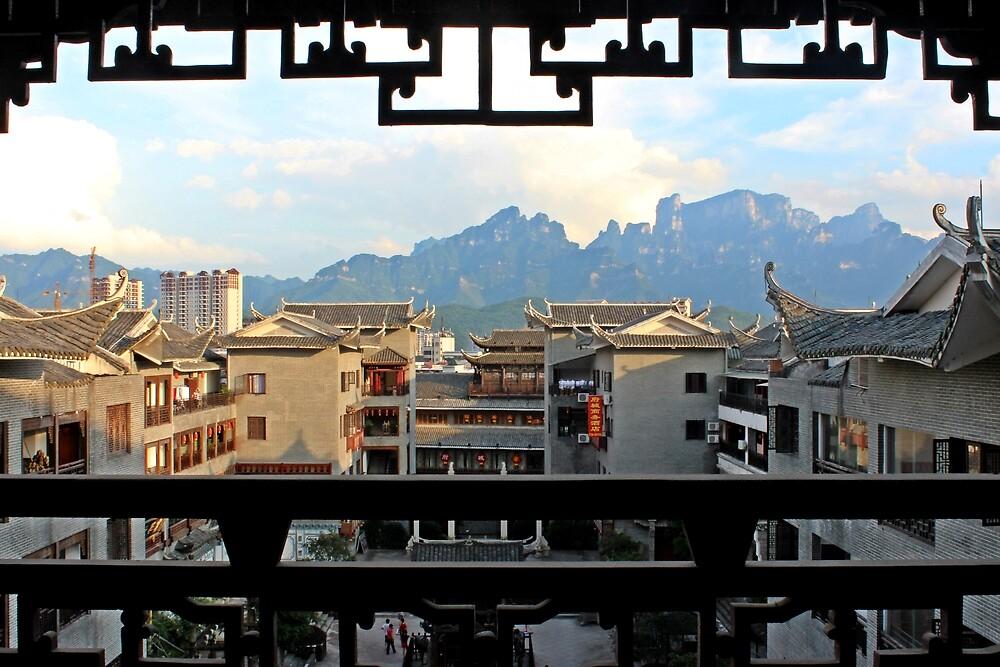 Tianmen Shan, Zhangjiajie, Hunan by DaveLambert