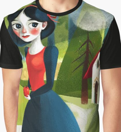 Snow White Graphic T-Shirt
