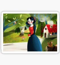 Snow White Sticker