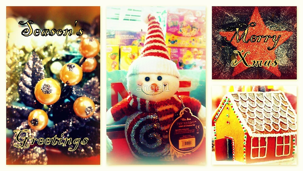 Season's Greetings ~ Merry Xmas by ©The Creative  Minds