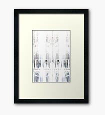 UNDERCOVER TECHNO Framed Print