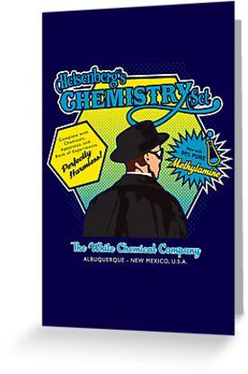 Heisenberg's Chemistry Set by Joe Dugan