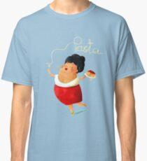Spaghetti Pasta Lady Classic T-Shirt