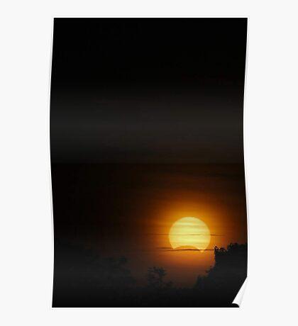 Solar Eclipse - November 14 2012  Poster