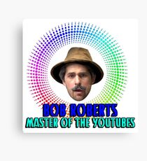 Master of the YouTubes Canvas Print