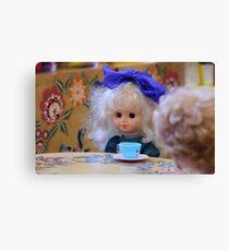beautiful doll  Canvas Print