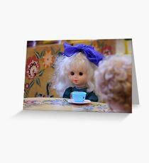beautiful doll  Greeting Card