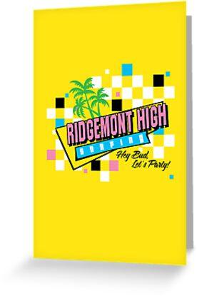 Ridgemont High Surfing by Joe Dugan