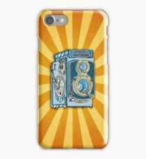 Minolta Vintage Twin Reflex Illustrated iPhone Case iPhone Case/Skin