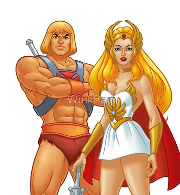 He-Man And She-Ra by Winkham