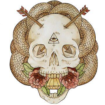 Skulls and Arrows by MilkAndHoney