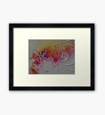 atomic forces Framed Print